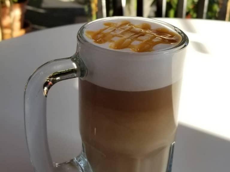 daily grind caramel latte